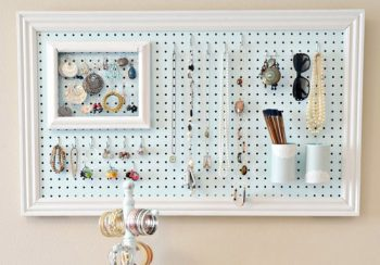 10 Cool Ways to Organize With a Pegboard