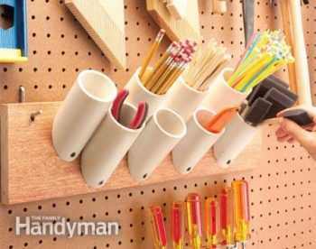 10 Cool Ways to Organize With a Pegboard10