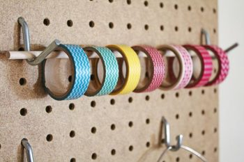 10 Cool Ways to Organize With a Pegboard2
