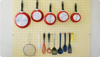 10 Cool Ways to Organize With a Pegboard7