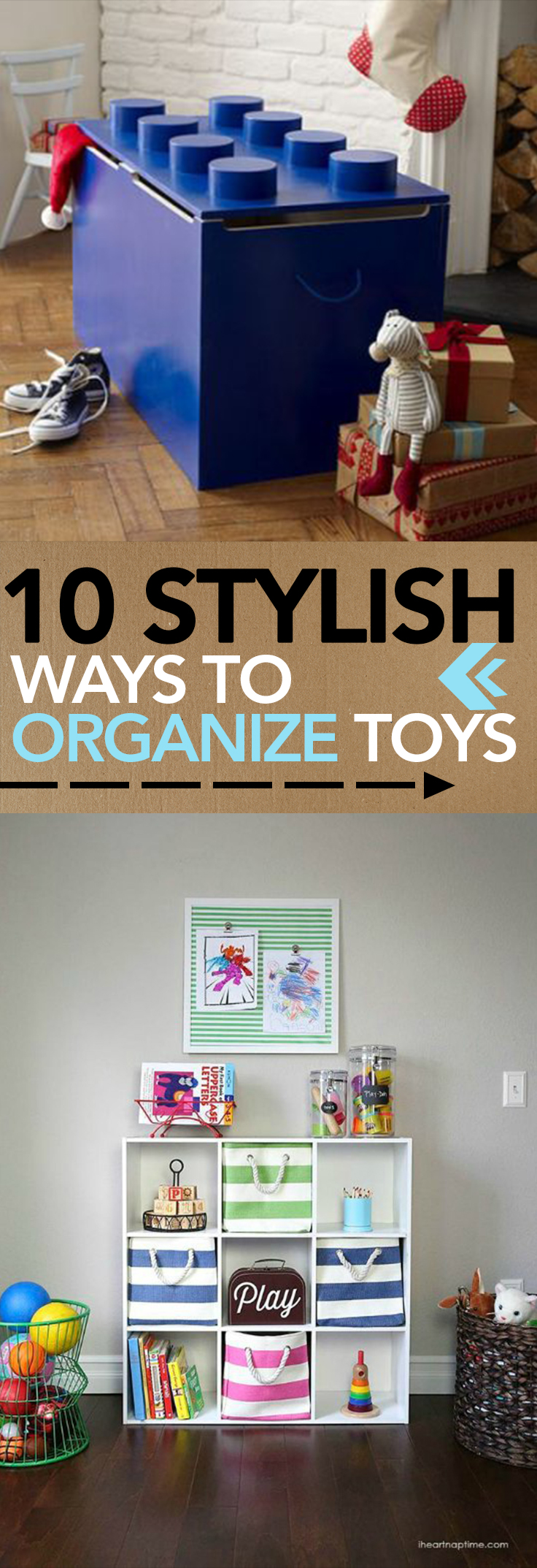 Organize, how to organize toys, stay organized with kids, popular pin, DIY organization, DIY playroom, playroom organization.
