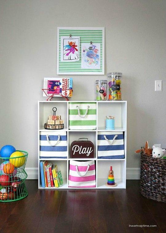 Organize, how to organize toys, stay organized with kids, popular pin, DIY organization, DIY playroom, playroom organization.