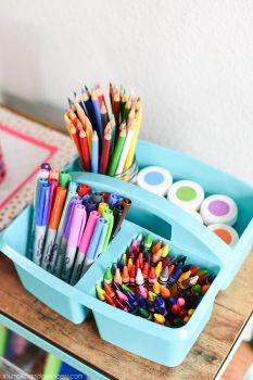 10 Unique Ways to Organize School Supplies