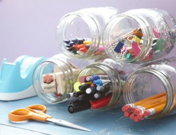 10 Unique Ways to Organize School Supplies10