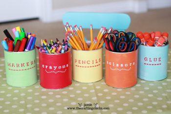 10 Unique Ways to Organize School Supplies3