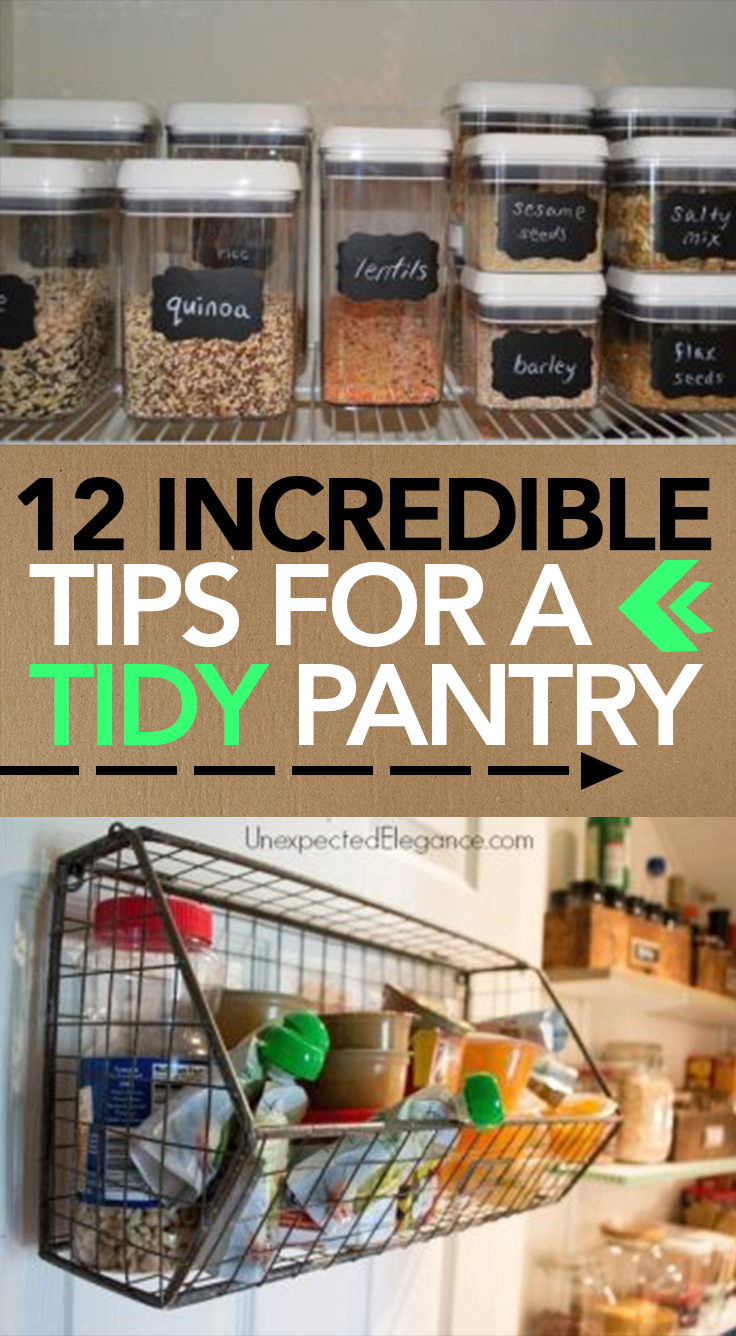 Organized, Pantry Organization, Kitchen Organization, Kitchen Hacks, DIY  Organization, Popular Pin