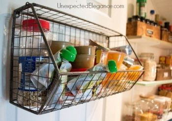 12 Incredible Tips for a Tidy Pantry7