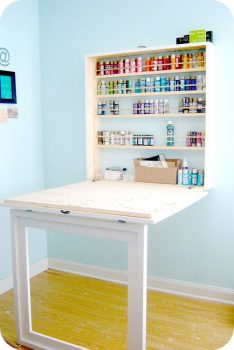 15 Clever Organization Ideas for Small Spaces8