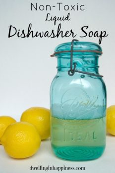 DIY Dishsoap {With Essential Oils}
