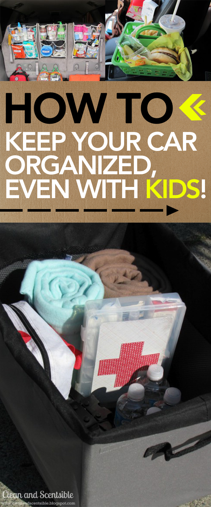 Car organization, organized car, keep your car organized, popular pin, DIY clean, DIY organization, staying organized with kids.