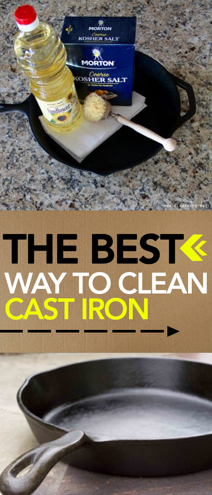 cleaning how to clean cast iron cast