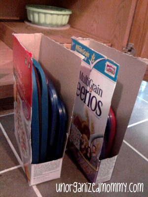 10 Beyond Clever Ways to Organize with Cereal Boxes8