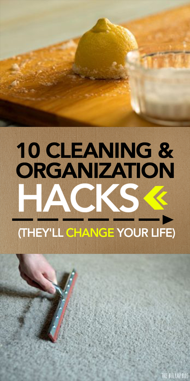Cleaning And Organization Hacks Theyll Change Your Life - 14 brilliant cleaning hacks that will change the way you clean your home