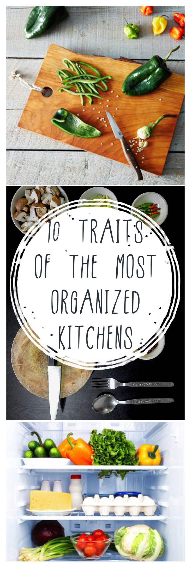 10 Traits of the Most Organized Kitchens
