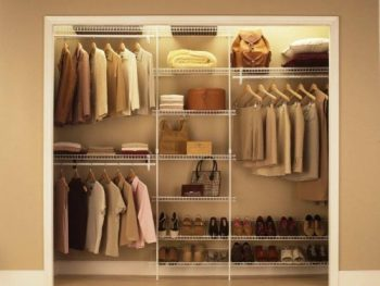 ... In Some Wire Shelving Or Similar To Help Give Some Order To All Your  Important Belongings. I Like The Container Store For Closet Organization  Products.