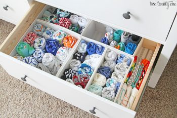 10 Ways to Organize Your House with Bins9