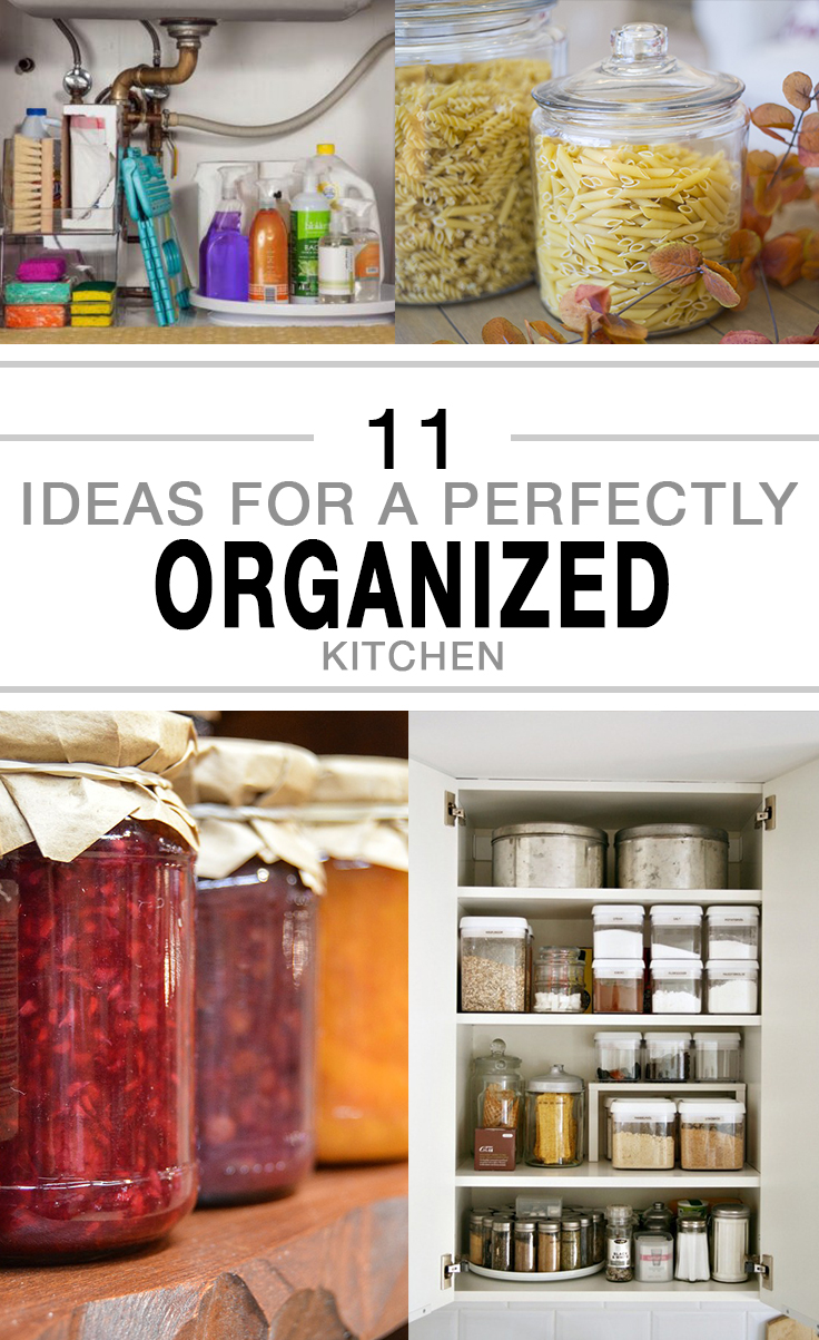 Kitchen organization, kitchen organization hacks, easy home organization, popular pin, DIY organization, DIY kitchen organization, kitchen storage.