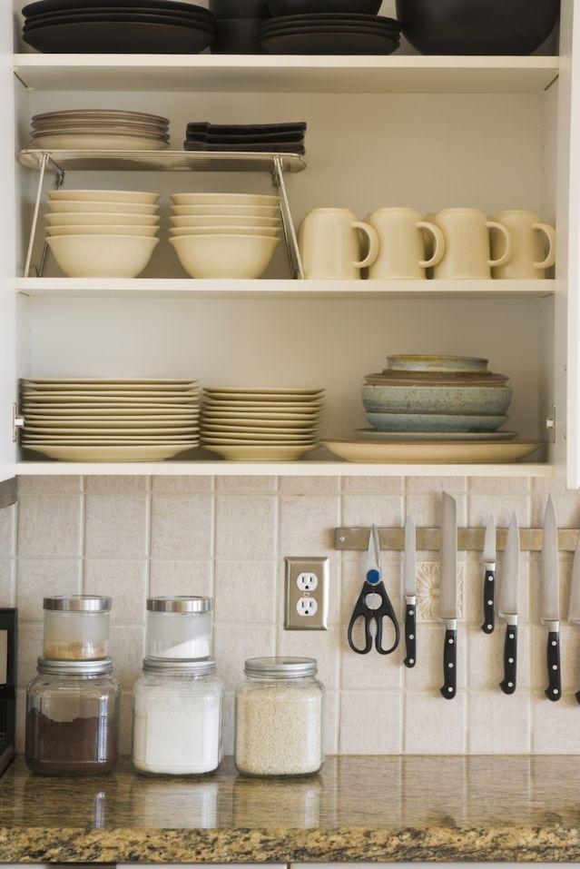 Kitchen organization, kitchen organization hacks, easy home organization, popular pin, DIY organization, DIY kitchen organization, kitchen storage.