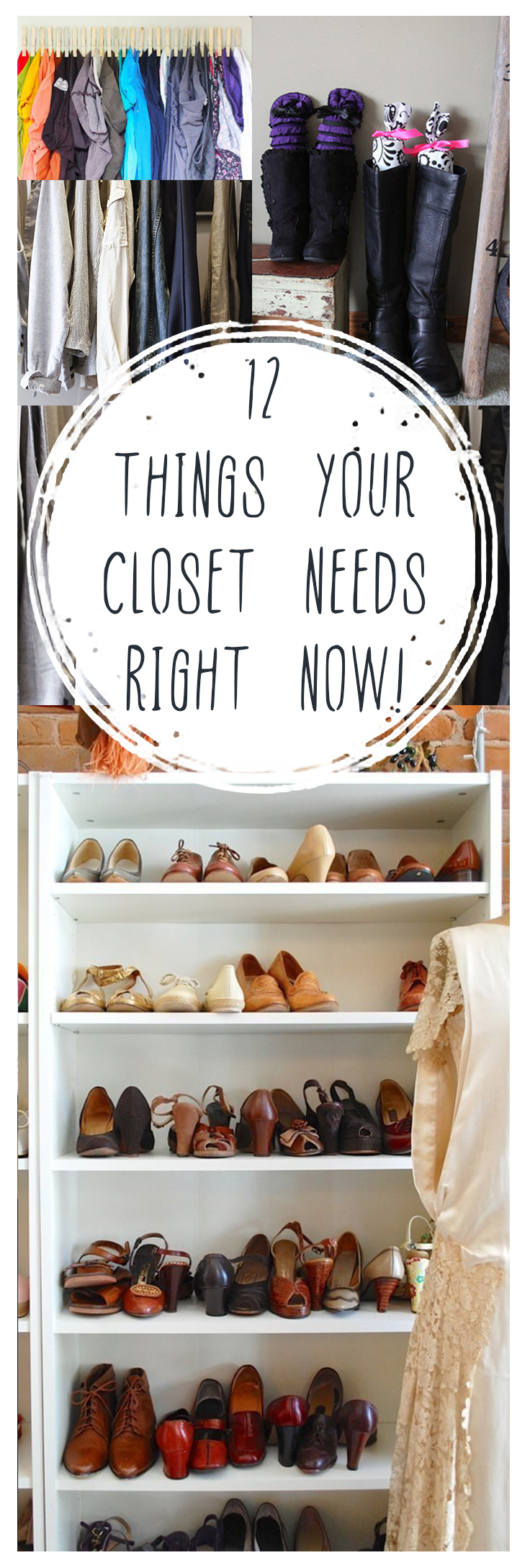 Closet, closet organization ideas, DIY closet organization, popular pin, closet storage, clothing hacks, how to store clothes.