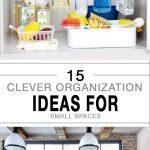 Clever organization hacks, organization tips, DIY organization, organization hacks, popular pin, easy organization, easy home organization.