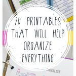 Printables, free printables, popular pin, organization, organization, cleaning tips, cleaning tricks, cleaning hacks, cleaning. verything