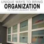 Laundry room organization, laundry room, organized home, popular pin, small space organization, small space living.