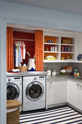 20 Unique Ways to Bring Organization to Your Laundry Room