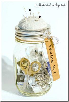5 Mason Jar Organization Crafts4