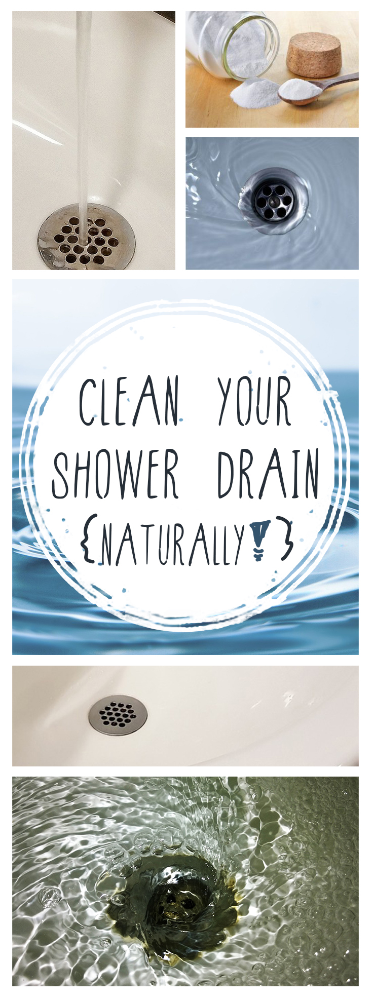 Clean your shower drain, how to clean your shower drain, cleaning, clean bathroom, bathroom cleaning, popular pin, easy bathroom cleaning tips..
