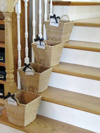 10 Ways Baskets Organize Everything4