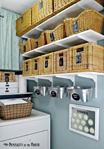 10 Ways Baskets Organize Everything9