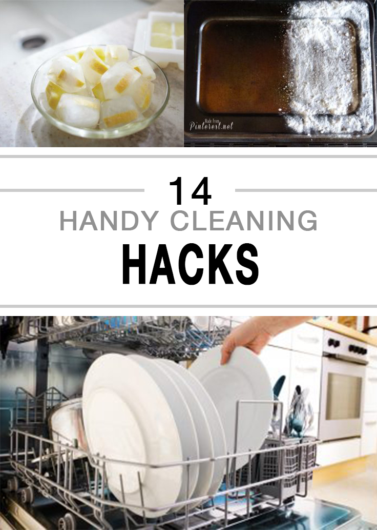 Handy Cleaning Hacks - 14 brilliant cleaning hacks that will change the way you clean your home