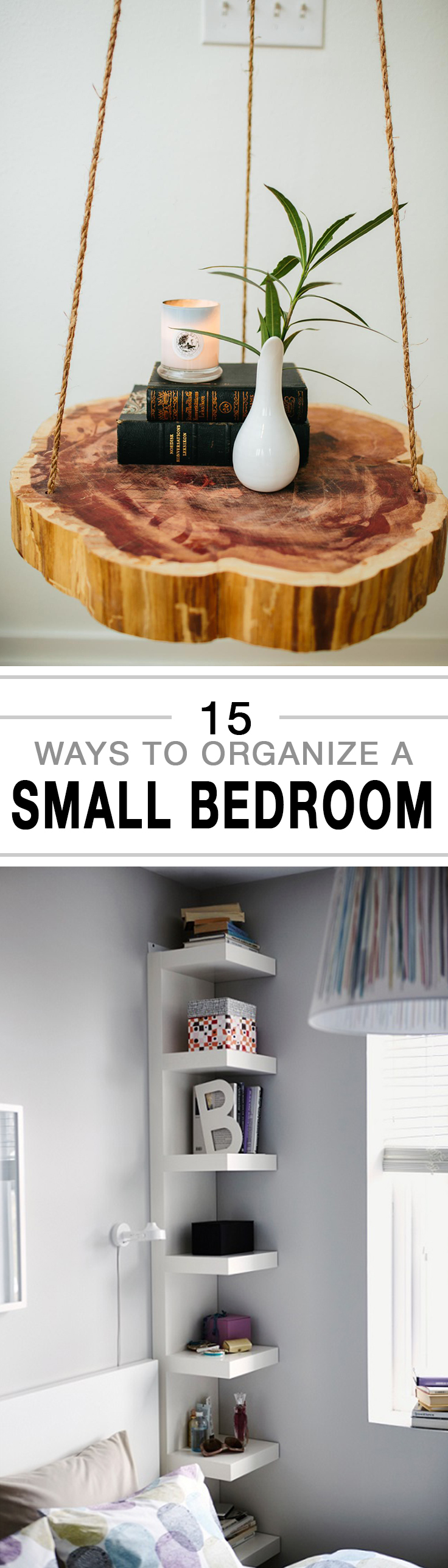 How To Organize A Small Bedroom  15 Tips And Tricks For Organizing Small  Spaces